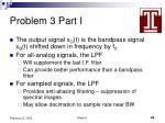 problem 3 part i