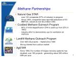 methane partnerships