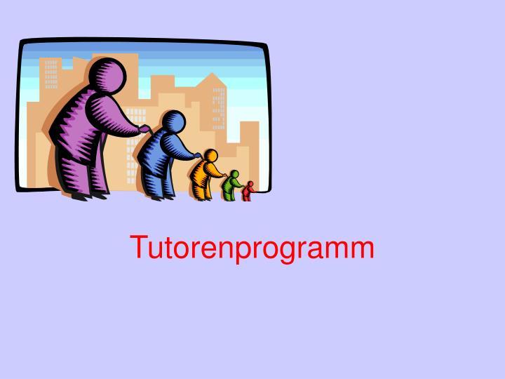 Tutorenprogramm