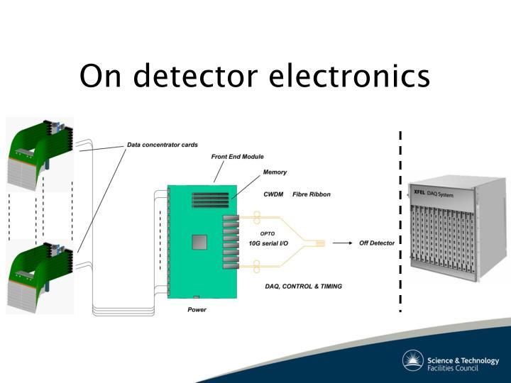 On detector electronics