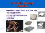 portable storage solution