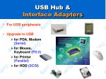 usb hub interface adapters