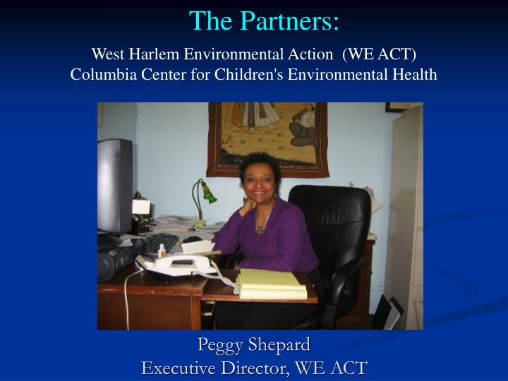West Harlem Environmental Action  (WE ACT)