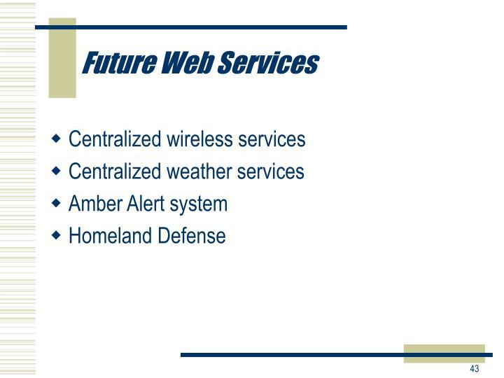 Future Web Services