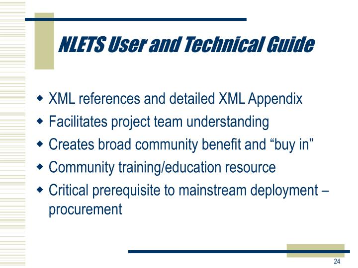 NLETS User and Technical Guide