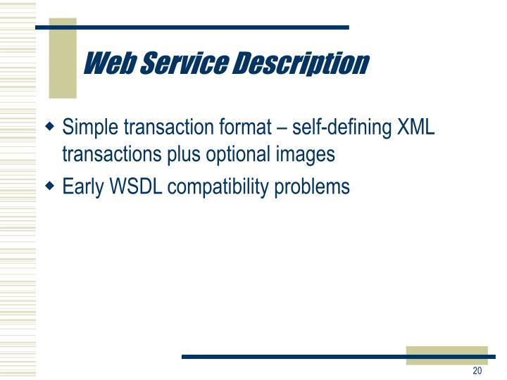 Web Service Description