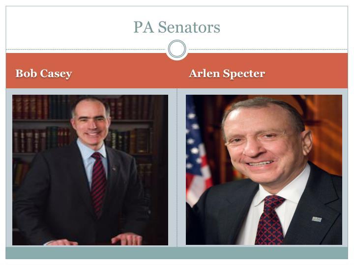 PA Senators