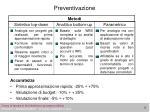 preventivazione