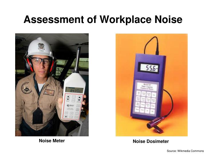 noise by operate assessor course