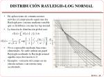 distribuci n rayleigh log normal