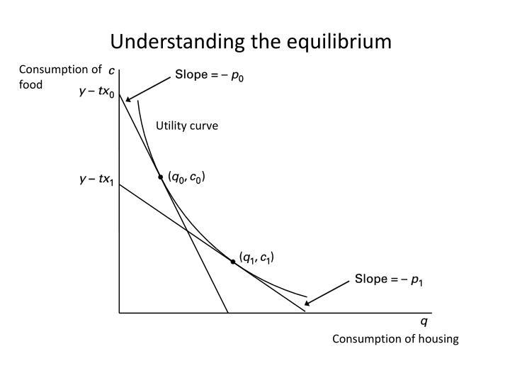 Understanding the equilibrium