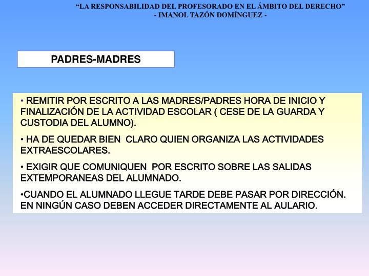 PADRES-MADRES