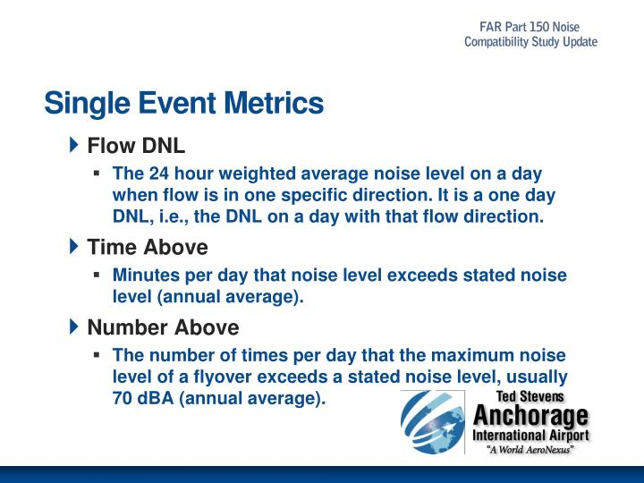 Single Event Metrics