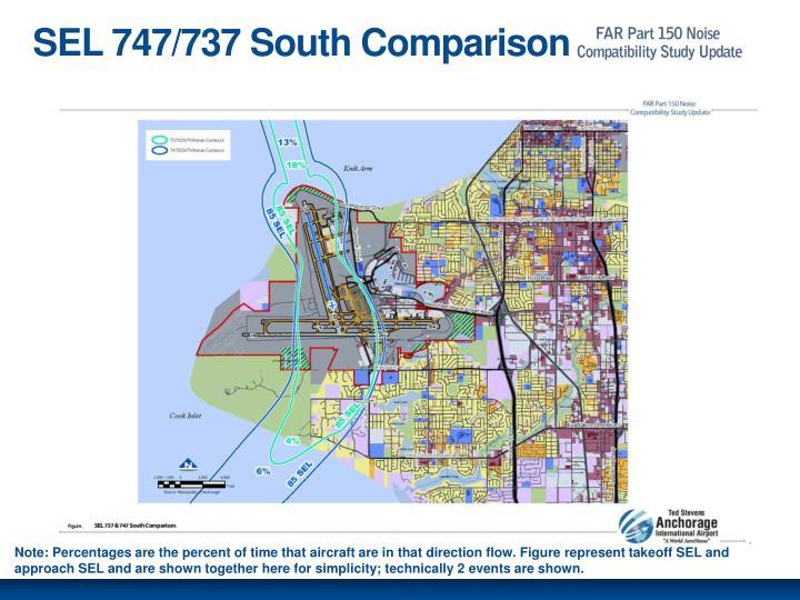 SEL 747/737 South Comparison