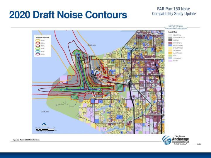 2020 Draft Noise Contours