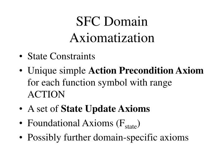 SFC Domain