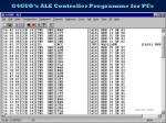 g4guo s ale controller programme for pcs