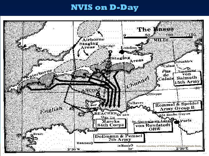 NVIS on D-Day