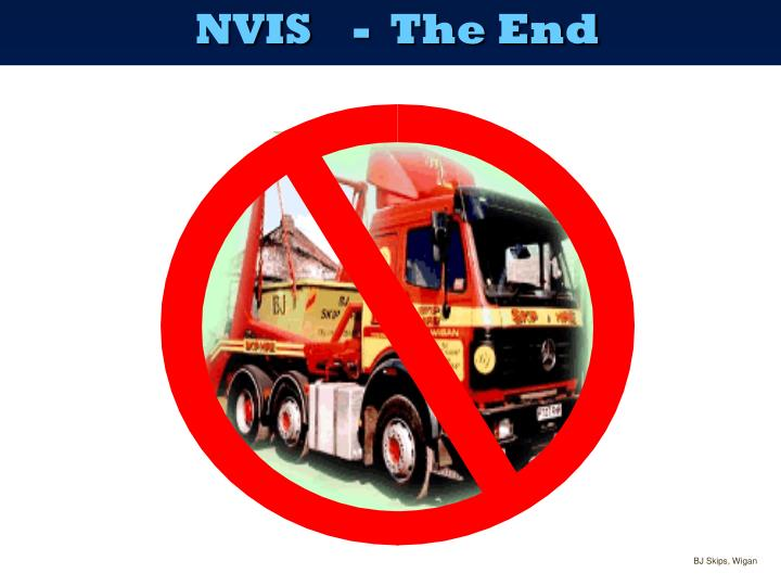 NVIS-  The End