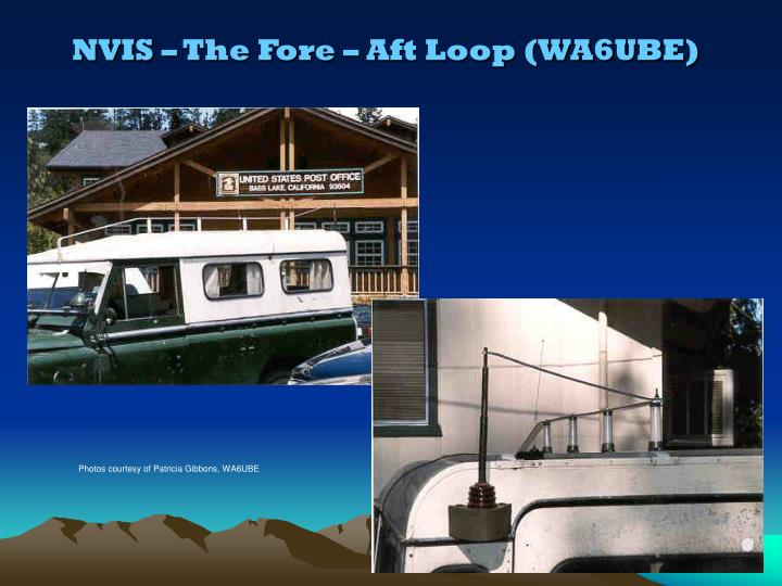 NVIS – The Fore – Aft Loop (WA6UBE)