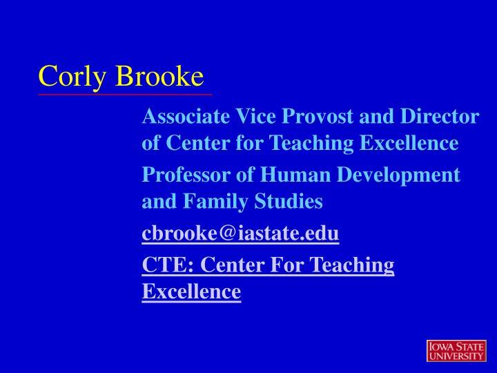 Corly Brooke
