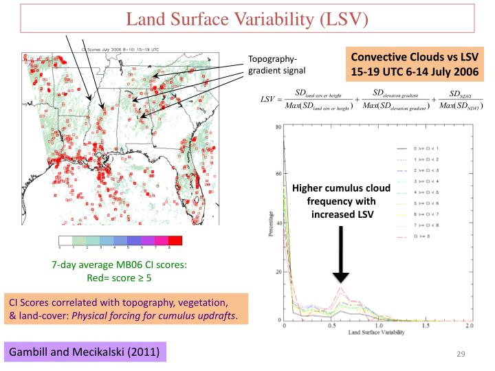 Land Surface Variability (LSV)