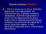 distrofii calitative lipidice