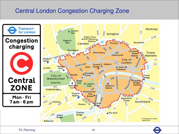 Central London Congestion Charging Zone