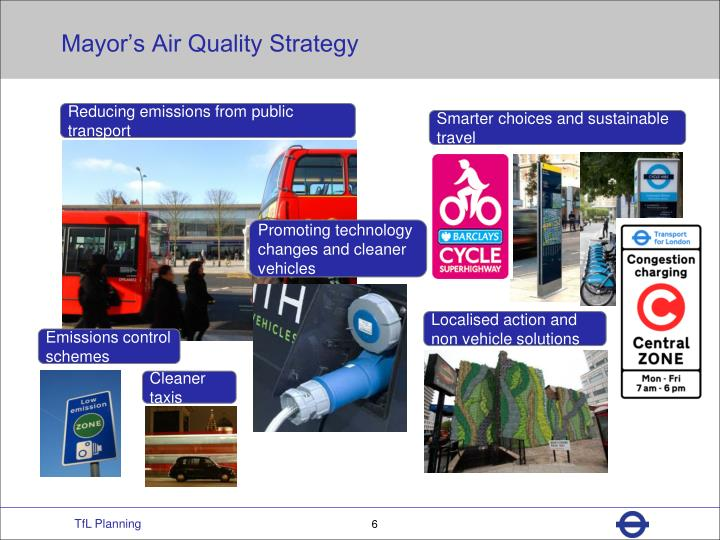 Mayor's Air Quality Strategy