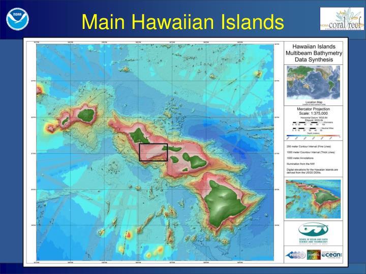 Main Hawaiian Islands
