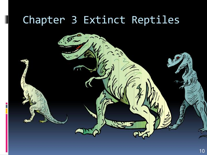 Chapter 3 Extinct Reptiles
