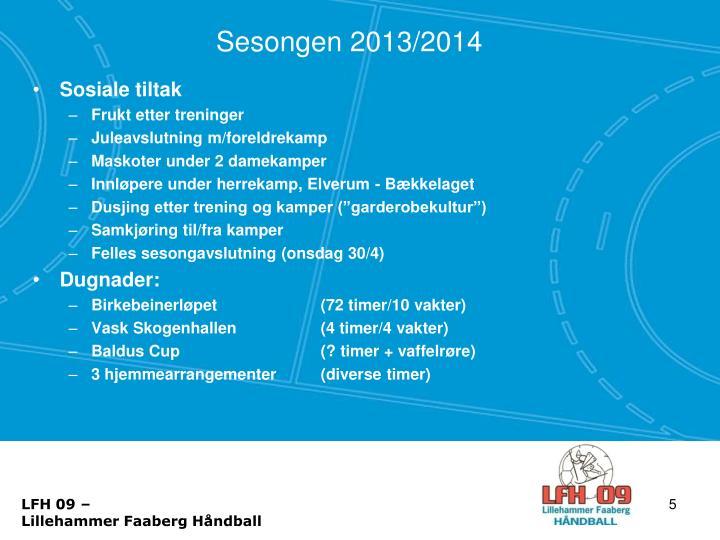 Sesongen 2013/2014