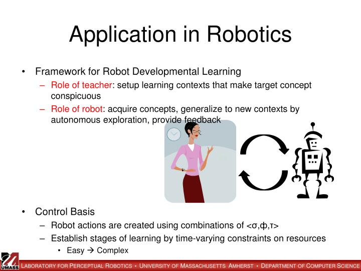 Application in Robotics
