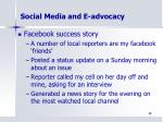 social media and e advocacy2