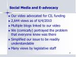 social media and e advocacy5