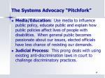 the systems advocacy pitchfork1