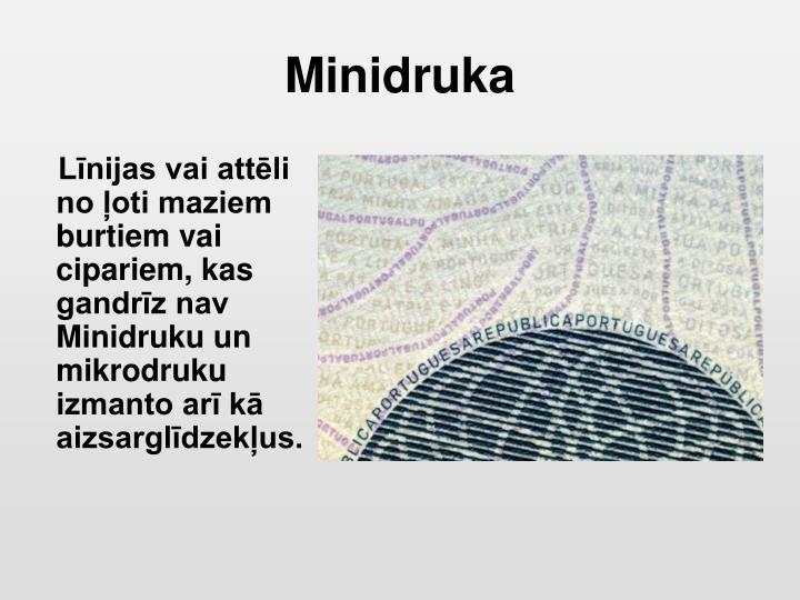 Minidruka