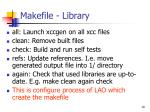 makefile library