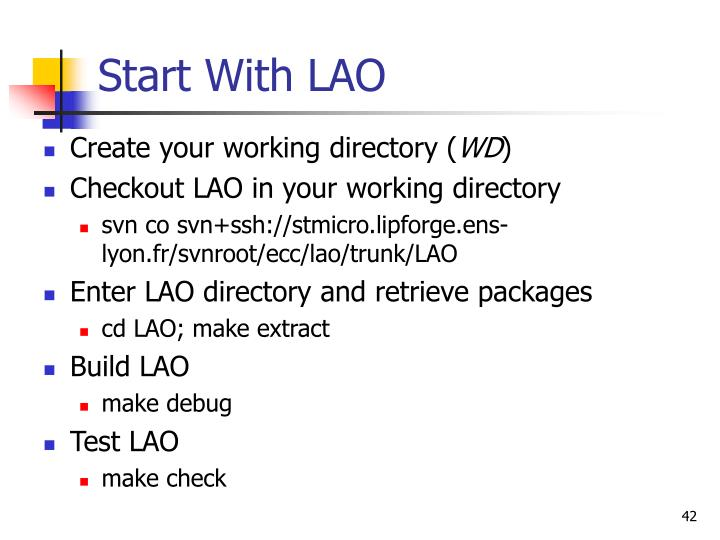Start With LAO