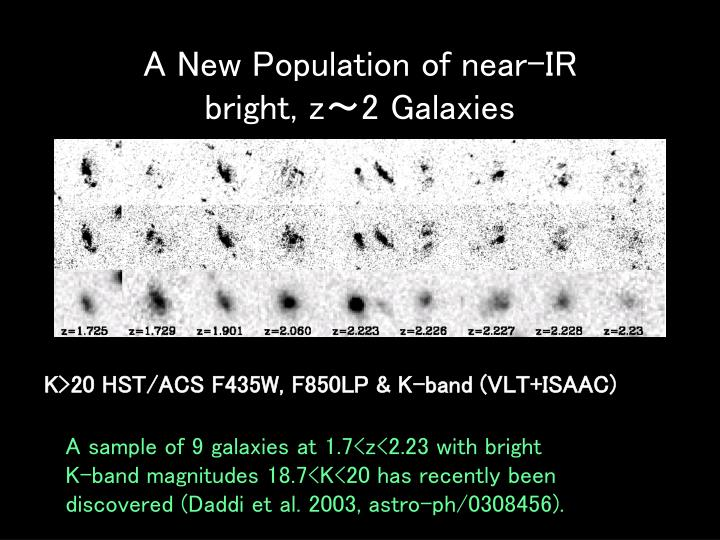 A New Population of near-IR