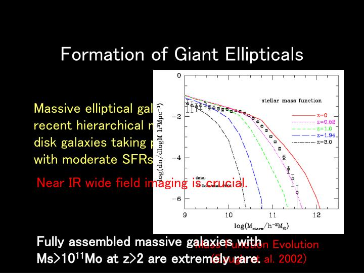 Formation of Giant Ellipticals