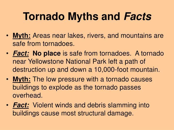 Tornado Myths and