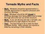 tornado myths and facts1