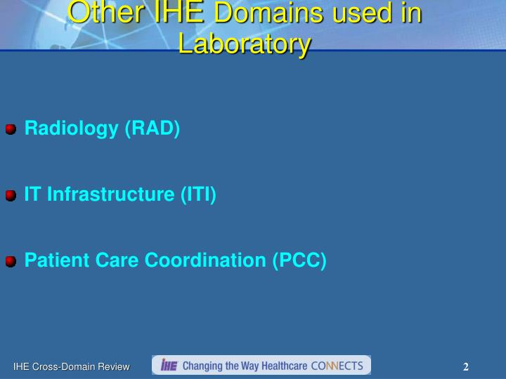 Other ihe domains used in laboratory