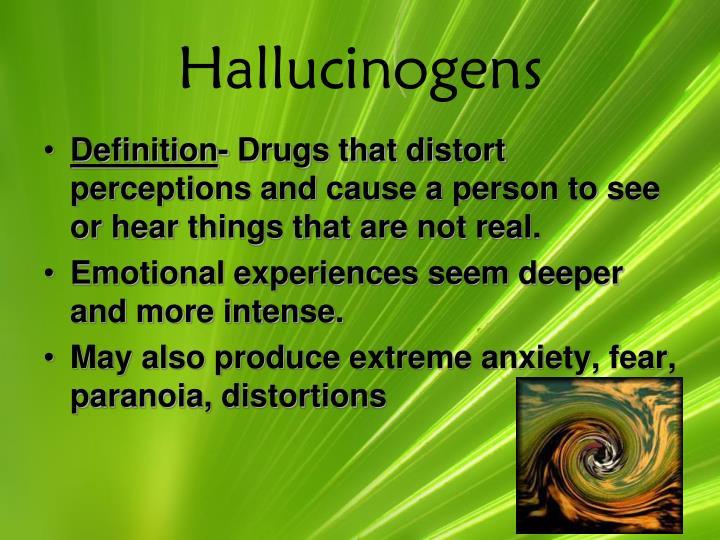 Hallucinogens