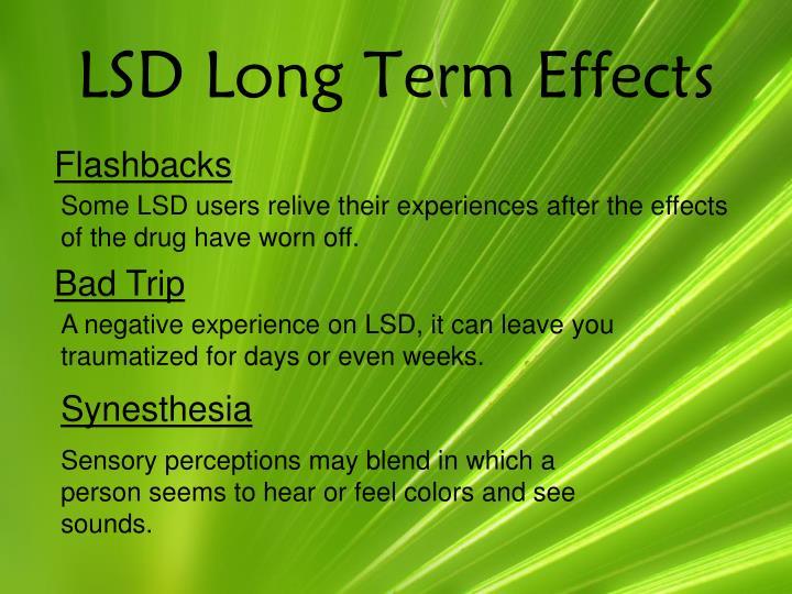 LSD Long Term Effects