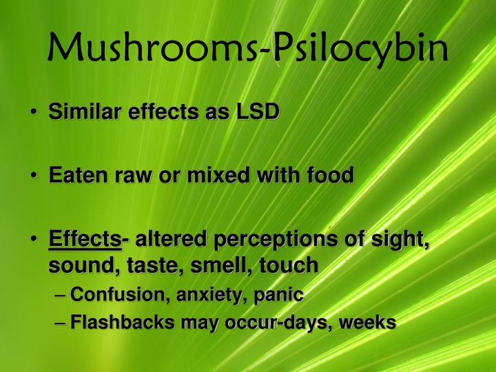 Mushrooms-Psilocybin