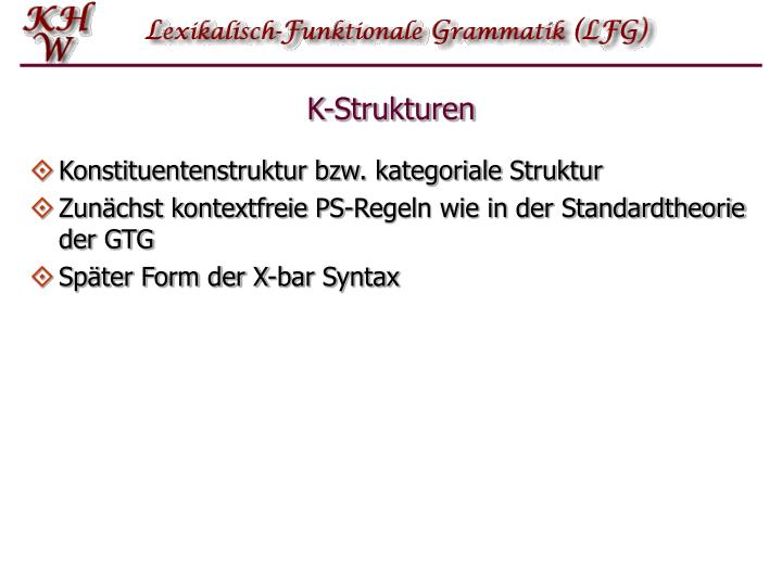 K-Strukturen