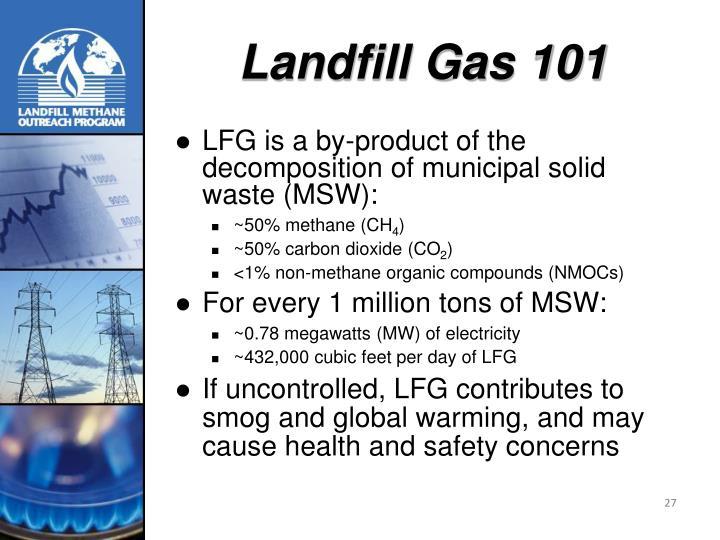 Landfill Gas 101