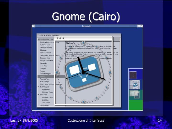 Gnome (Cairo)